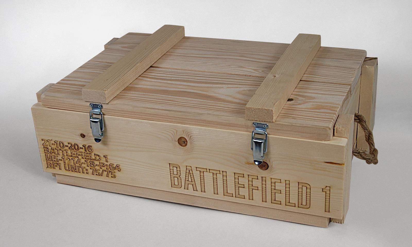 Pudełko Battlefield podarunkowe