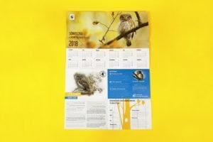 Kalendarz naścienny Sóweczka
