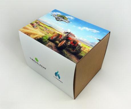 Pudełko kartonowe purefarming