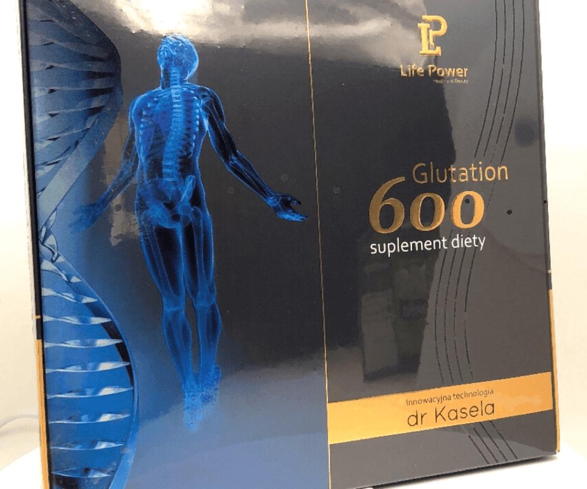 Opakoanie Glutation 600 suplement diety