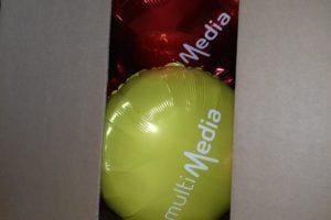 Balony w kartonach