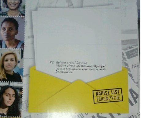Napisz list zmień życie