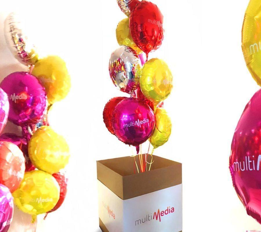 Balony multimedia