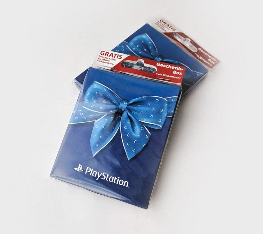 Playstation pudełka podarunkowe