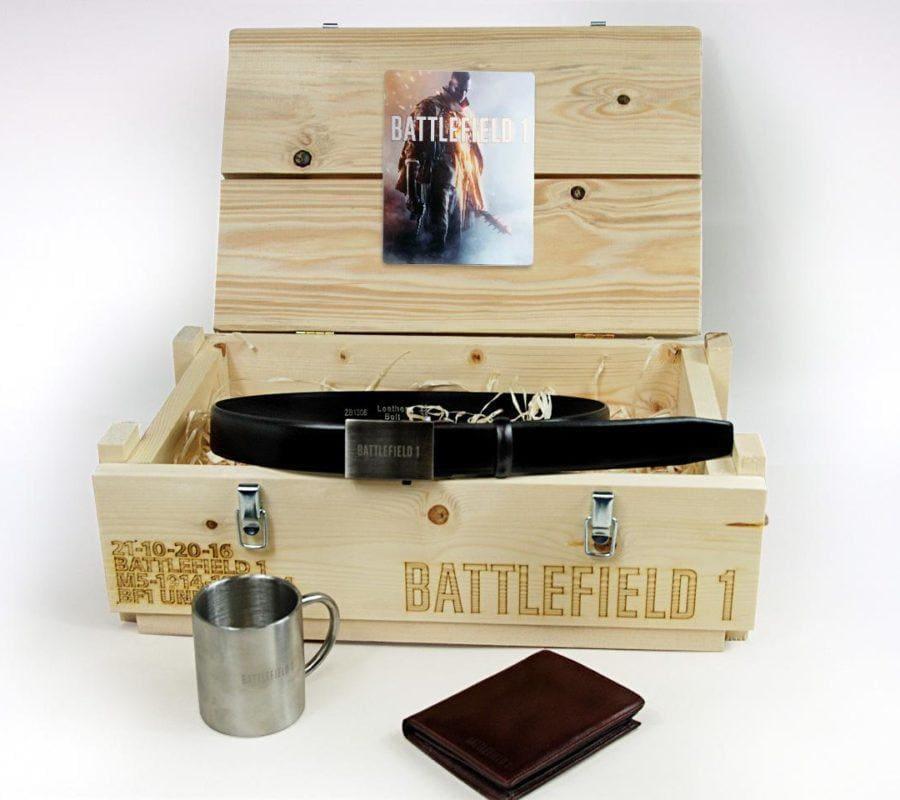 Pudełko drewniane BATTLEFIELD