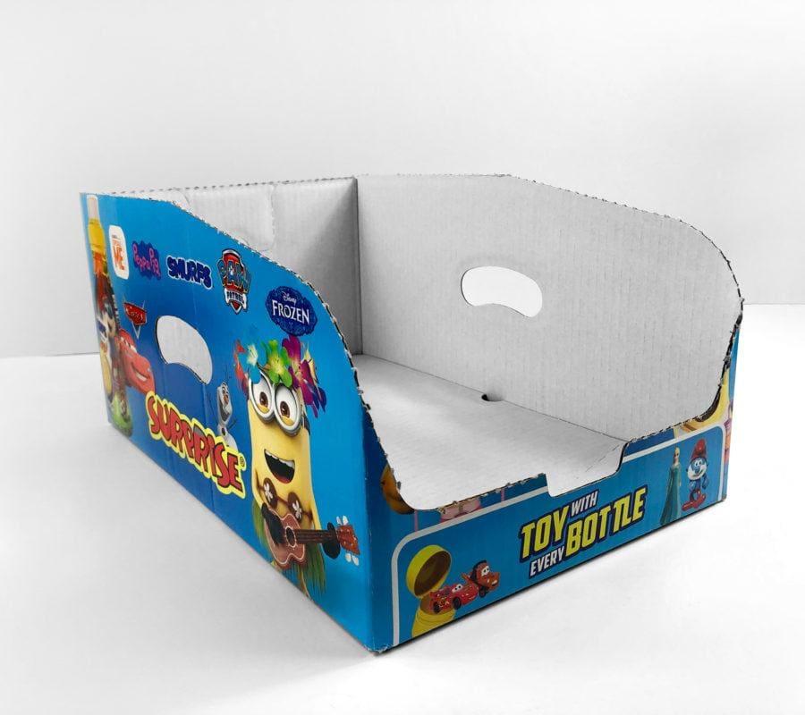 Pudełko dla zabawek kartonowe