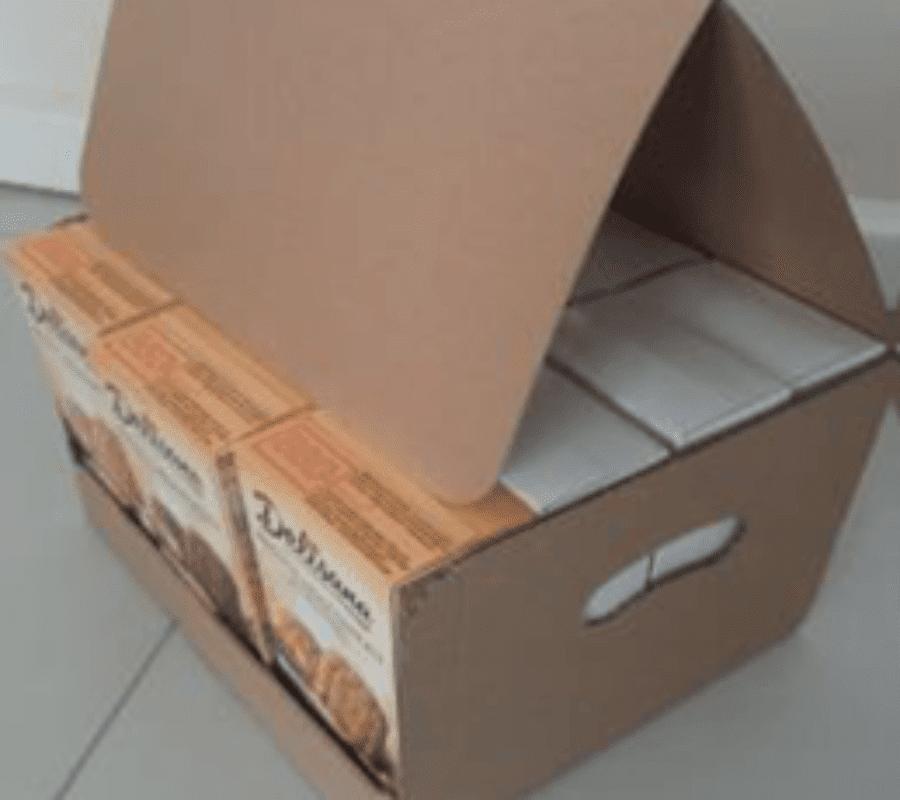 Karton na musli